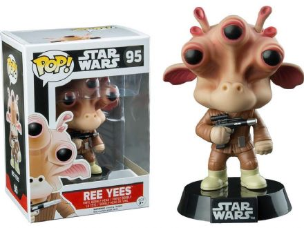 Funko Pop Star Wars Ree Yees Vinyl Bobble Head Figure